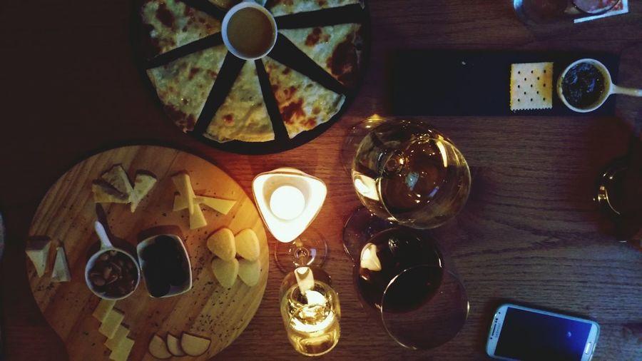 Cheese And Wine rainy night