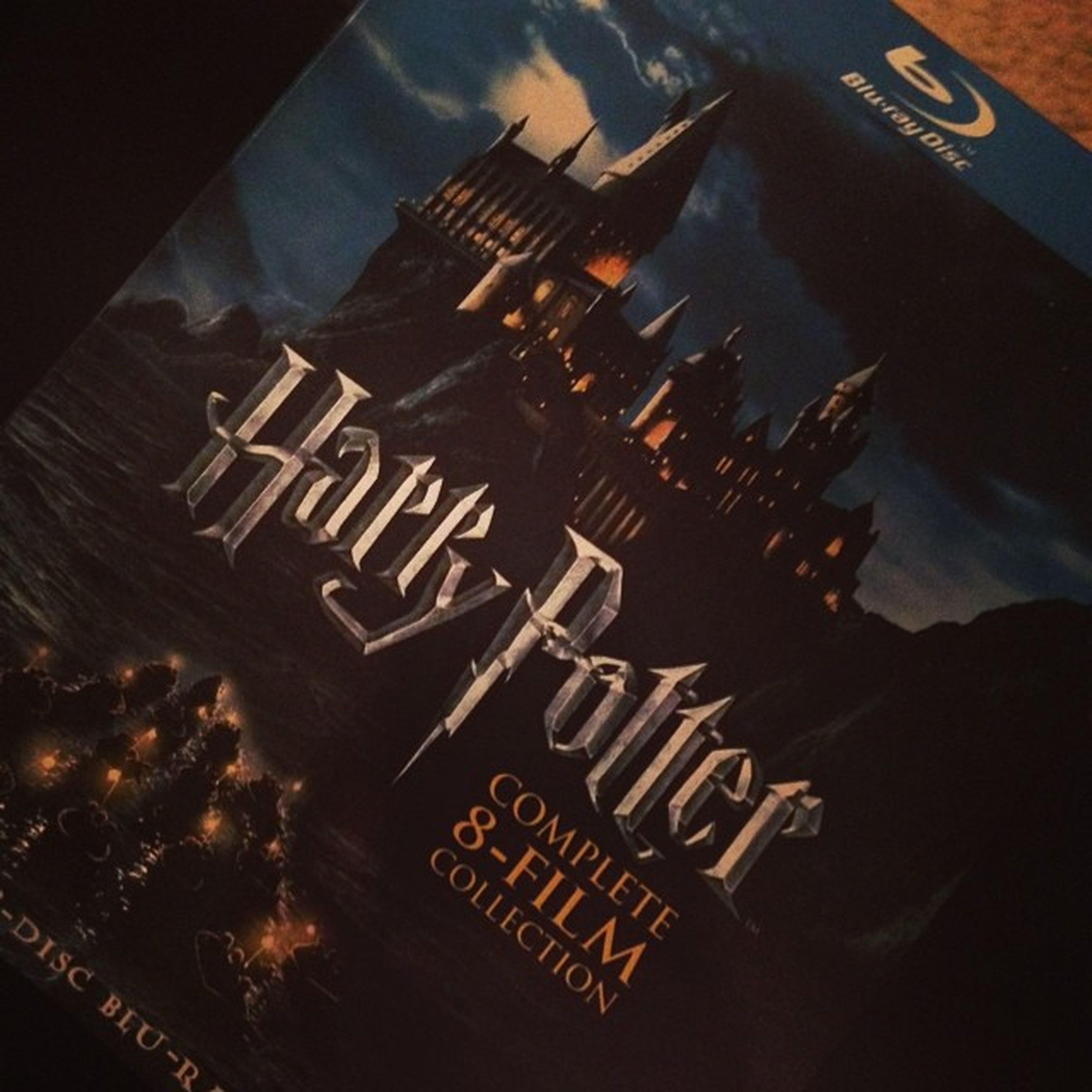 Oh snap son! Harry Potter marathon til my eyes bleed ??????? Bluray Harrypotternerd Harrypotterforever