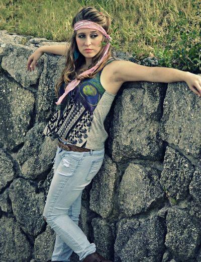 Vintage Hippie Crazy Style Hippiegirl