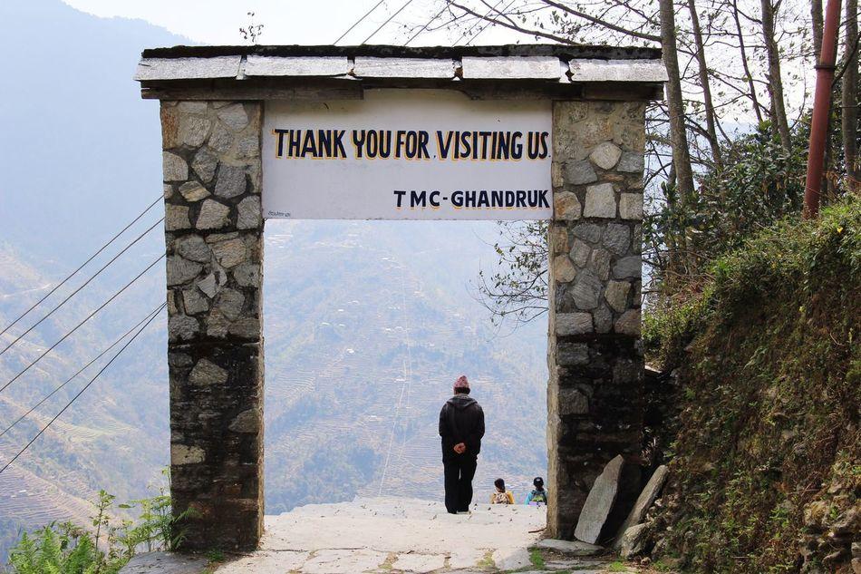 Beauty In Nature Nepalipeople😊 Annapurna Mountain Range Poonhil Trek
