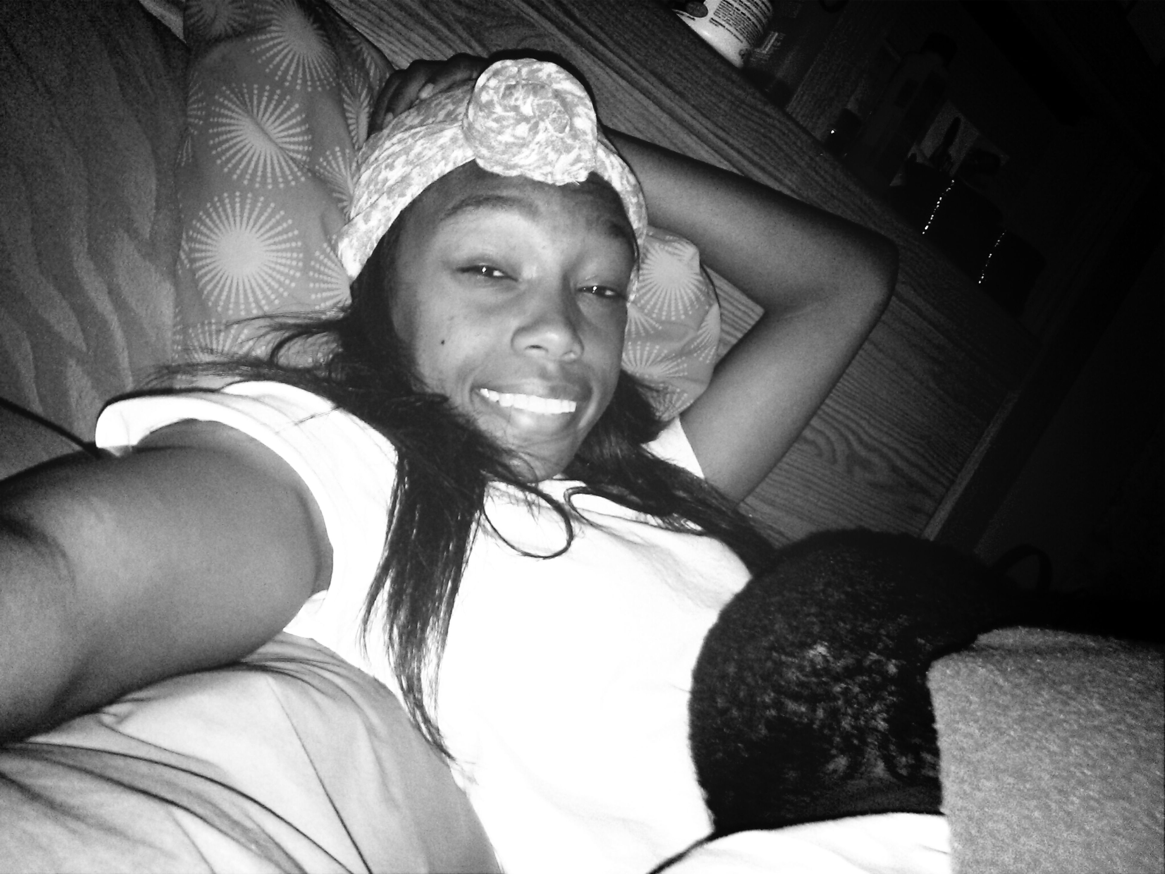 Laying Down With Cobi :)