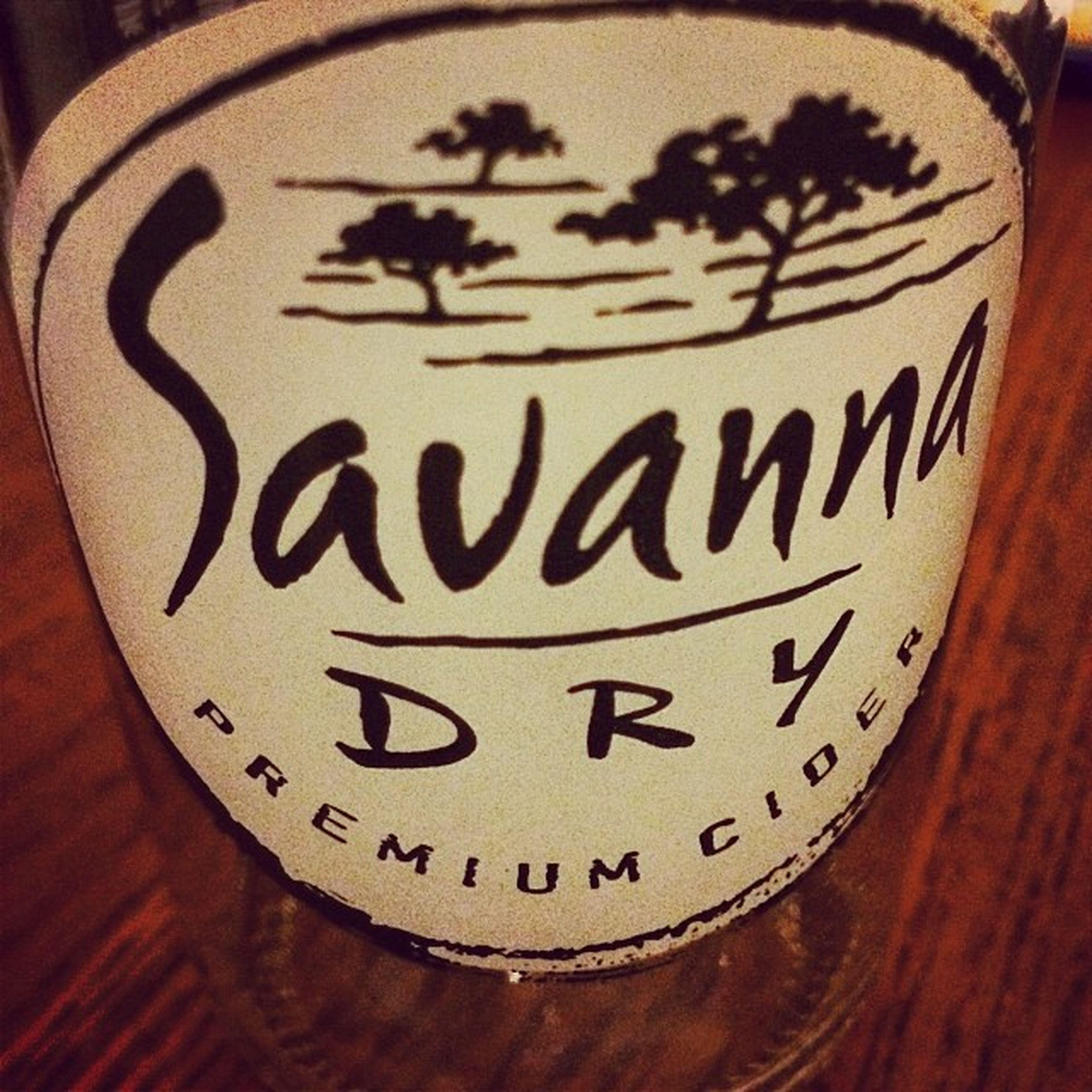 LeiderGeil aber Leiderleer 😉 Cider Savannadry