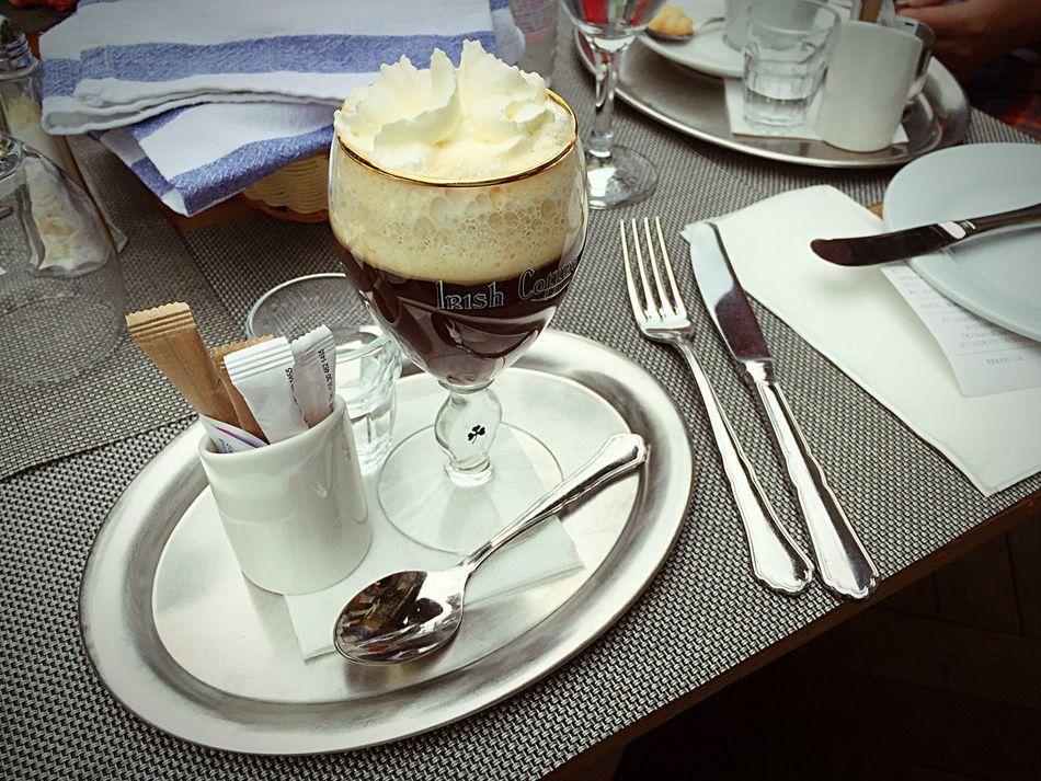 Yummy Budapest Irish Coffee
