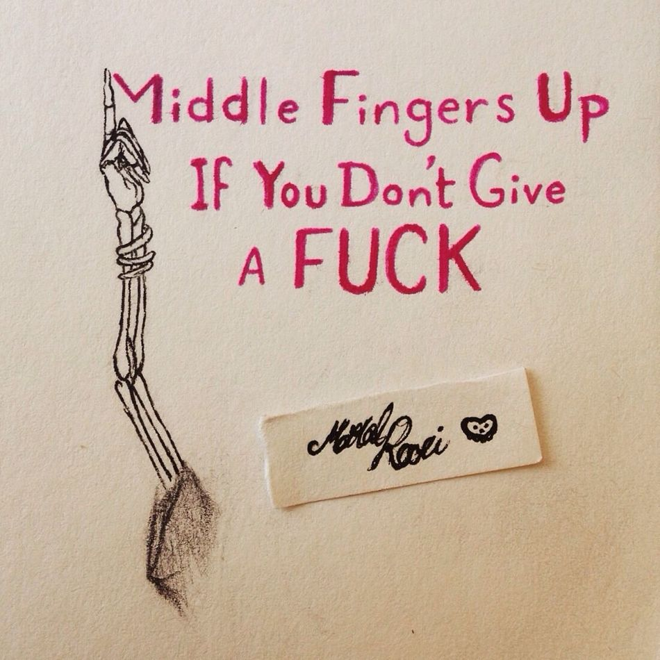 """""""Middle fingers up if you don't give a Fuck"""" from the song Antivist by Bring me the horizon!🤘😝 Middle Middle Finger MiddleFinger Song Music Bmth Bringmethehorizon Bring Me The Horizon Antivist Lyrics Drawing Inktober Art Awesome Lyricalartistry Skeleton Blackandwhite Sketch DontGiveAFuck Doodle ArtWork Band Hope You Like It. Cool Nothingisordinary"""
