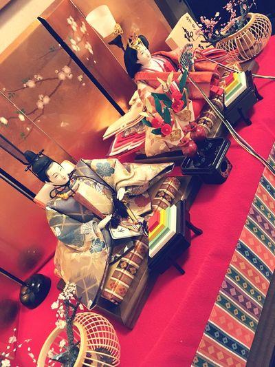 雛祭り お内裏様 と お雛様 Hina Festival