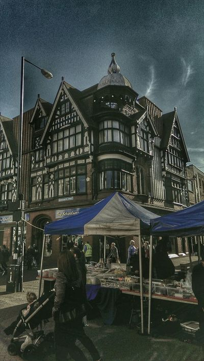 Lookupandthrive TOWNSCAPE Marketday Old Buildings Blue Blue Sky Nuneaton Look Up And Thrive Check This Out Oldschool
