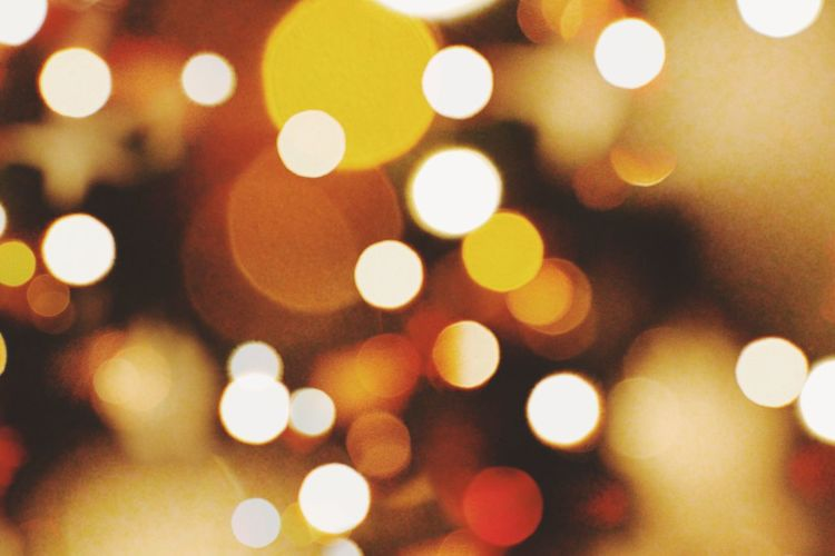 Colors Lights Christmas
