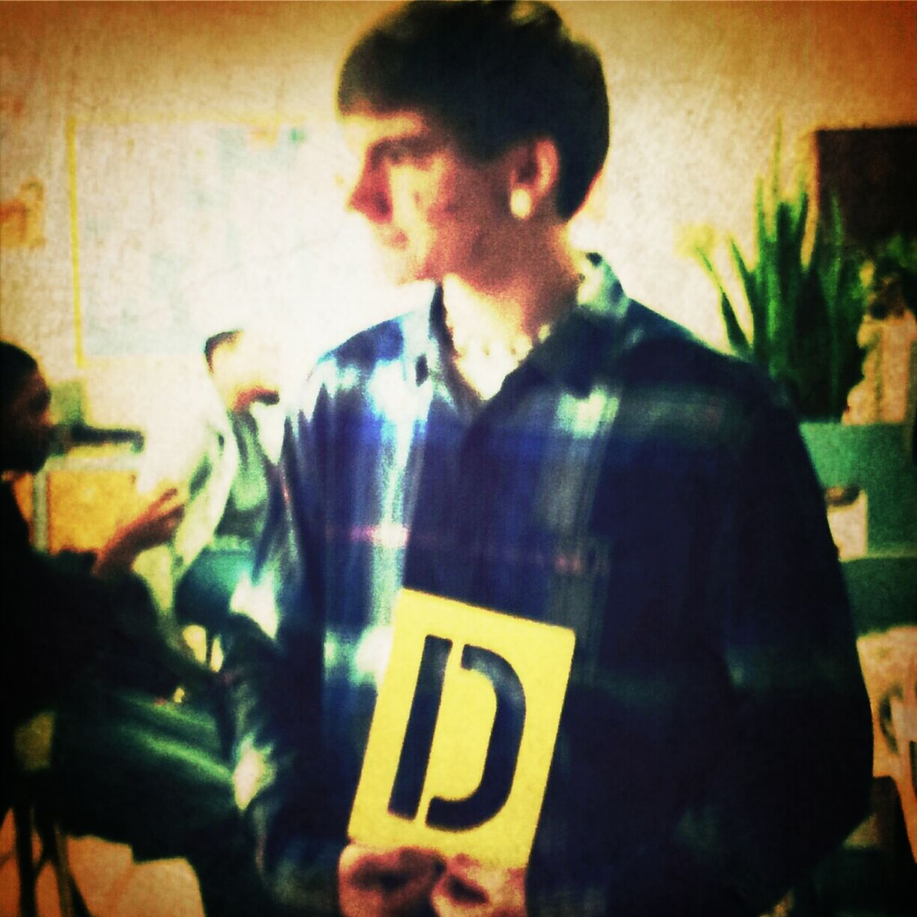 He Got The D