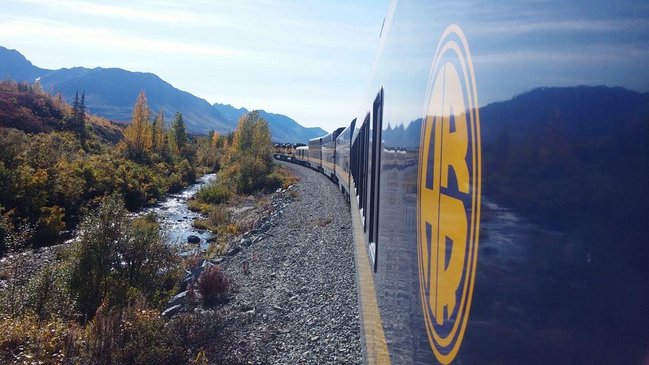 Daytime Railroad Alaskanrailroad Train Nature Alaskan Nature DayTimePhotography