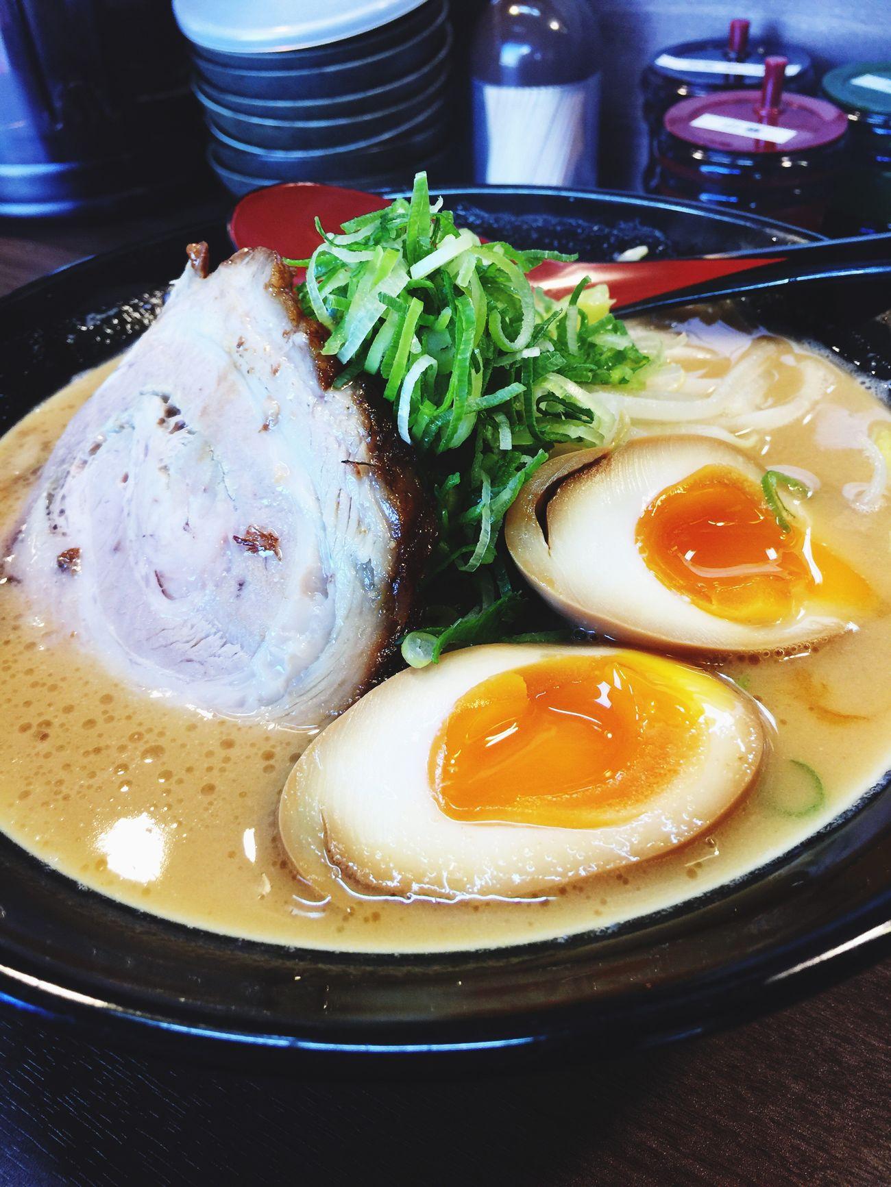 味噌ラーメン(♡ >ω< ♡)美味しス Enjoying A Meal ラーメン Ramen 心斎橋 ラ女子 ラヲタ 大阪市