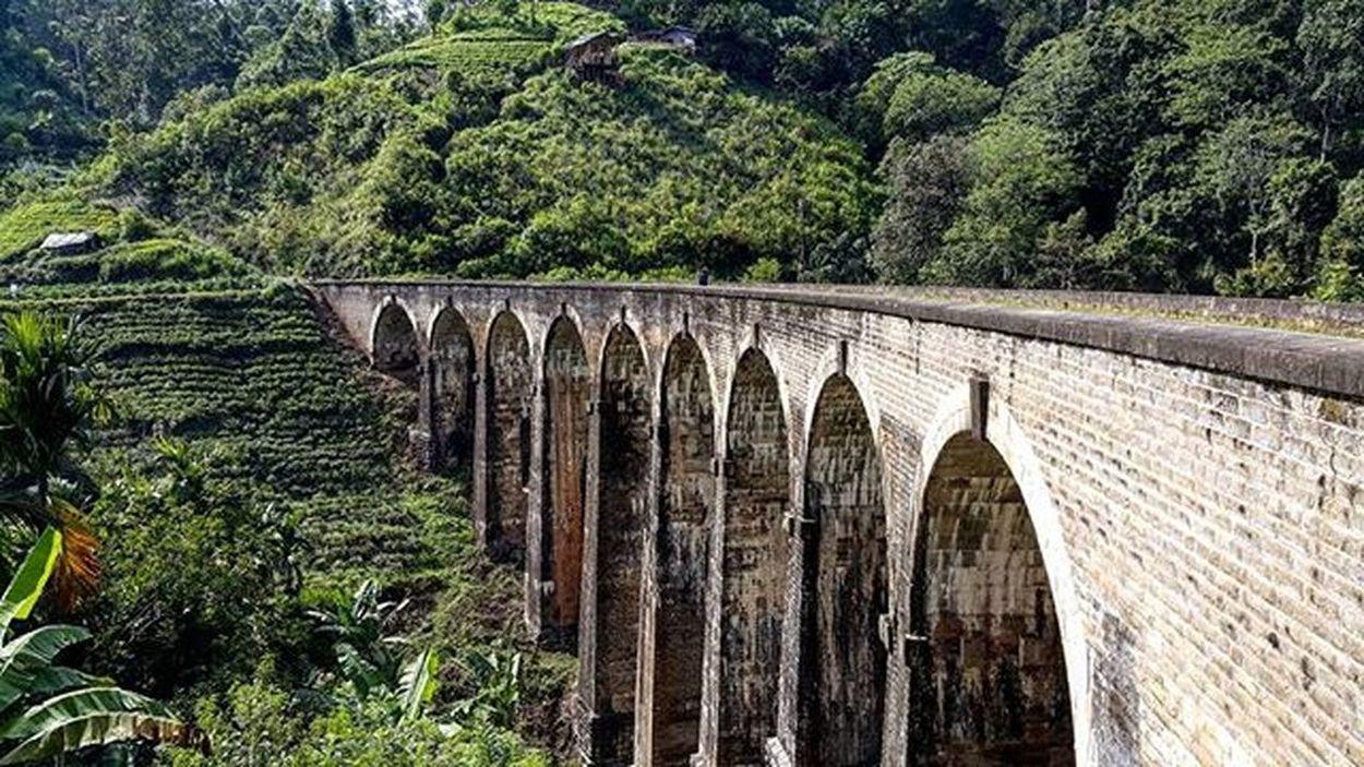 Знаменитый девятиарочный мост шриланка шриланка2016 SriLanka Srilanka2016 турсемействахеваге