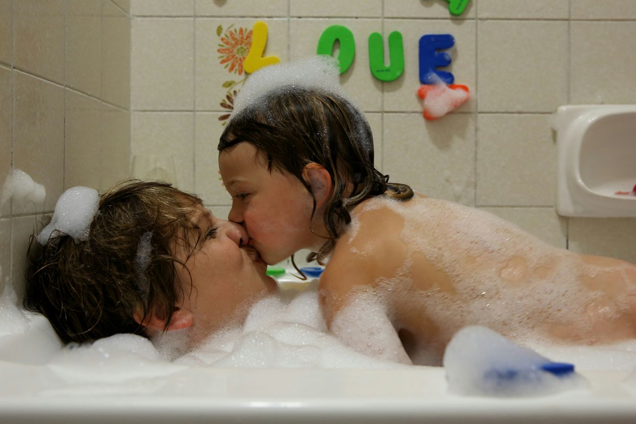 Beautiful stock photos of mother's day, Bathroom, Bathtub, Bonding, Bubble Bath