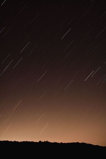 Star - Space Astronomy Night Star Trail Scenics Star Field Nature Constellation Beauty In Nature Space Tranquil Scene Galaxy Tranquility Sky Long Exposure No People Outdoors Rural Scene Milky Way Tree Perseid Meteor Shower EyeEm EyeEm Best Shots EyeEm Selects