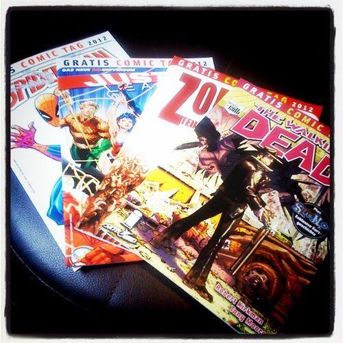 #gratiscomictag #gct Thewalkingdead Justiceleague Gratiscomictag Gct Spiderman DC Comics Zombies  Marvel