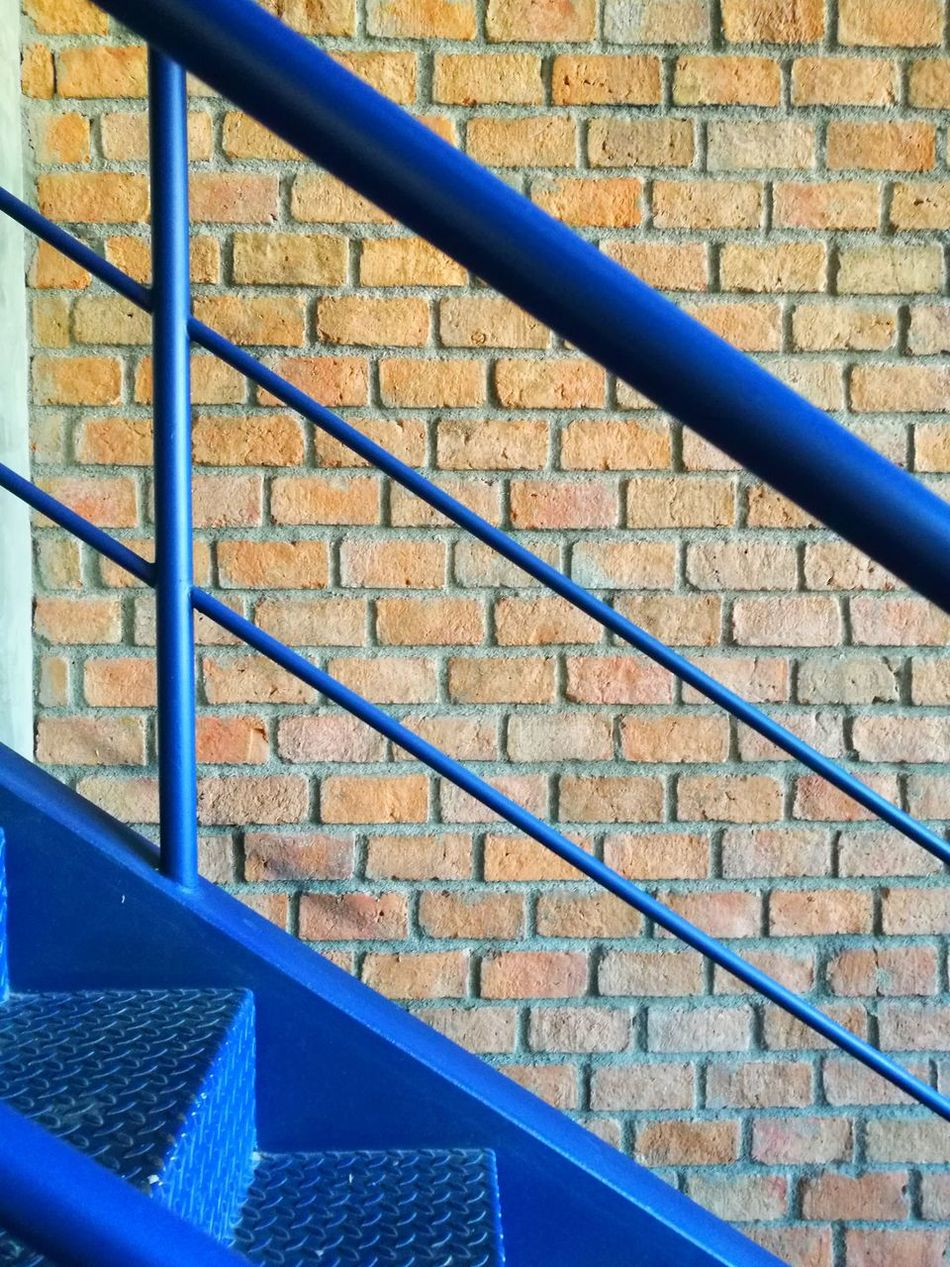 High Angle View Steps And Staircases Staircase Metal Day Steps No People Built Structure Pattern Architecture Outdoors Blue Close-up EyeEm Thailand EyeEm Best Shots Agriculture Architecture