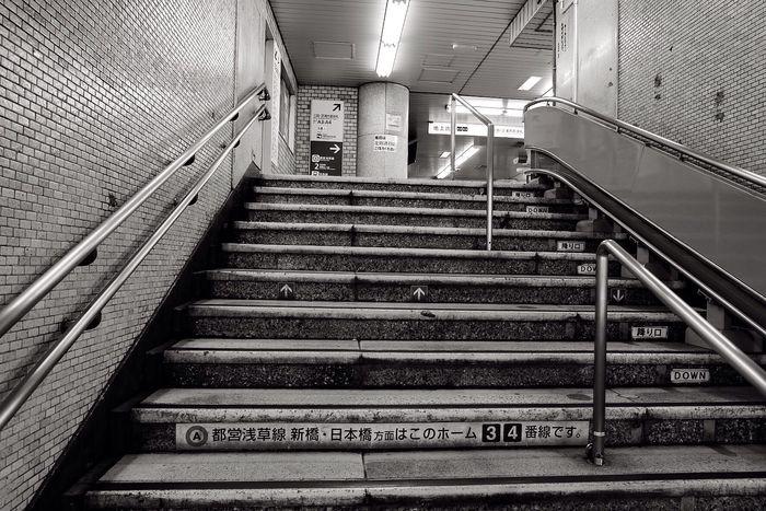 Stairs Keikyu Japan Cabincrew Layovers Fujifilm_xseries Tokyo Travel Photography Tokyo,Japan Travel Wanderlust ASIA Train Station Photography (null)Blackandwhite Blackandwhite Photography