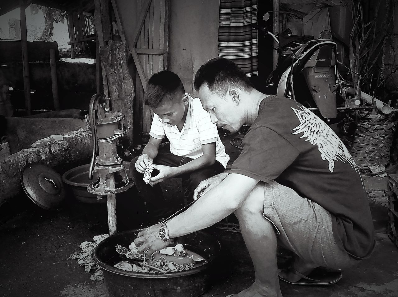 Oyster Time Oyster  Aklan Philippines