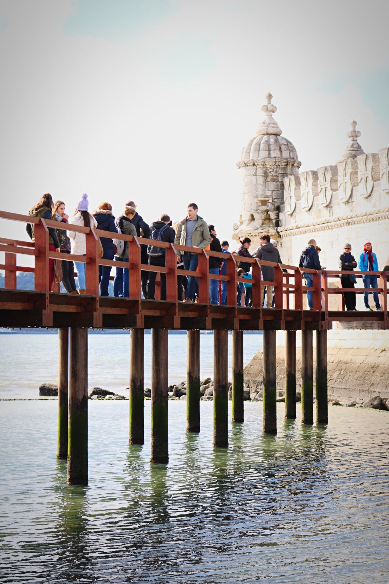 Adult Adults Only Architecture Bridge Day Large Group Of People Men Outdoors People People Photography Real People Sky Standing Streetphotography Taking Photos Water Water_collection Waterfront Women Young Adult