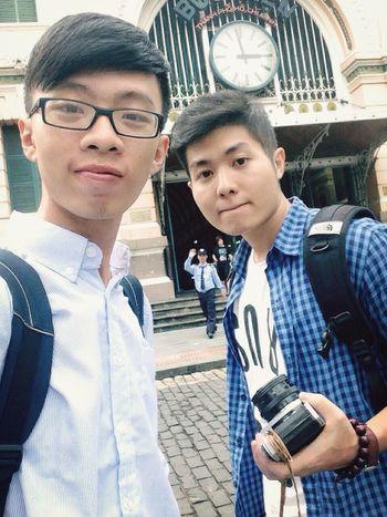 Vừa về Sài Gòn đã có bạn Hà Nội vào thăm ;))
