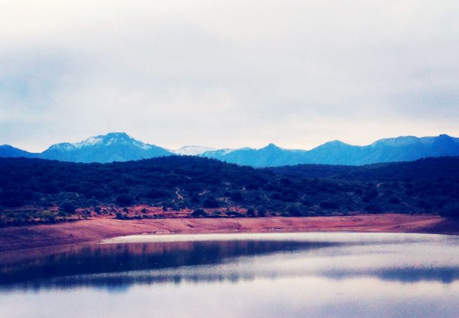 First snow of the year in Oudtshoorn, South Africa First Eyeem Photo Feelthejourney Travel Photography South Africa