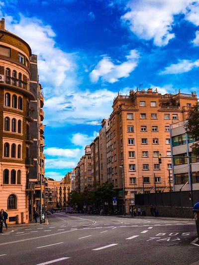 Av. Princep d'Asturies. No Cars In This Picture Myneighborhood Walking Taking Photos Hello World Streetsofbarcelona