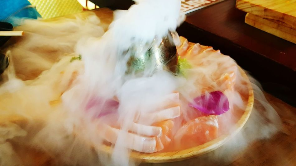 Japanese Food Salmon Sashimi Salmon Dish Salmon Lover Cold And Fresh Salmon My Lunch Time Sashimi  Sashimi Dish By SS Note5