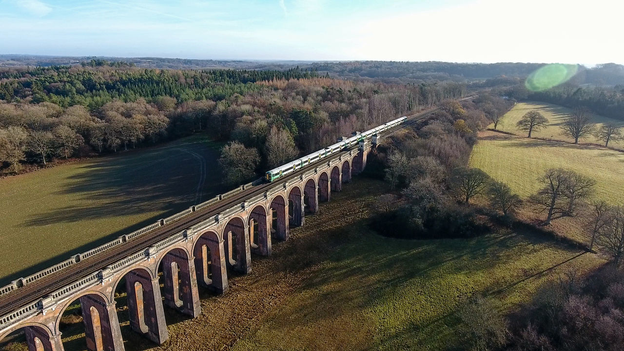 Balcombe Balcombe Viaduct Brighton Main Line Nature Ouse Valley Viaduct Outdoors Railway Southern Rail Train Trains Viaduct West Sussex