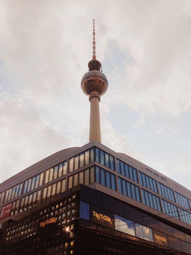 TV Tower Look Up And Thrive Architecture I ❤ BERLIN Geometric Shapes