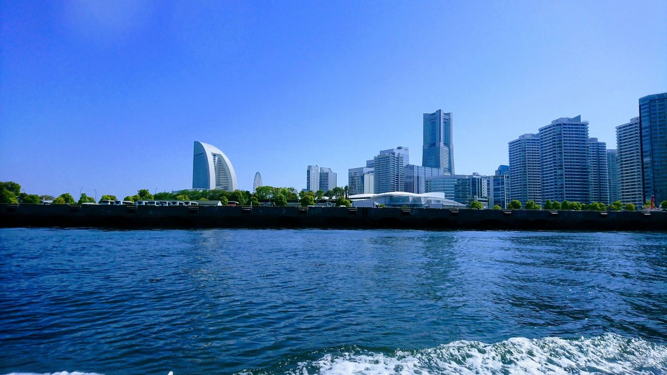 No People Skyscraper Built Structure Building Exterior Water City Architecture Waterfront Clear Sky Urban Skyline Modern River Outdoors Cityscape Day Blue Travel Destinations Sky Clear Sky
