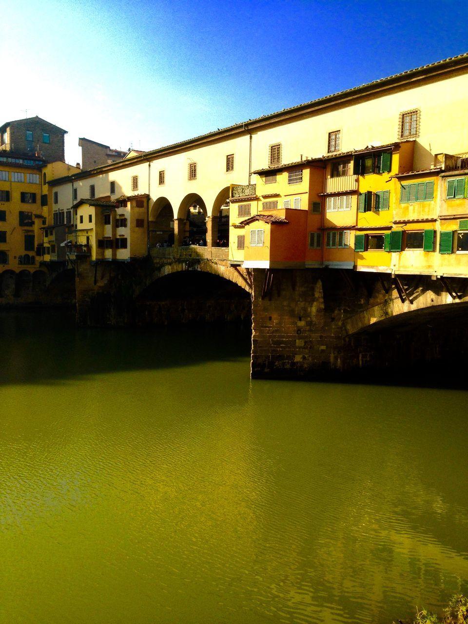 Ponte Vecchio Over River