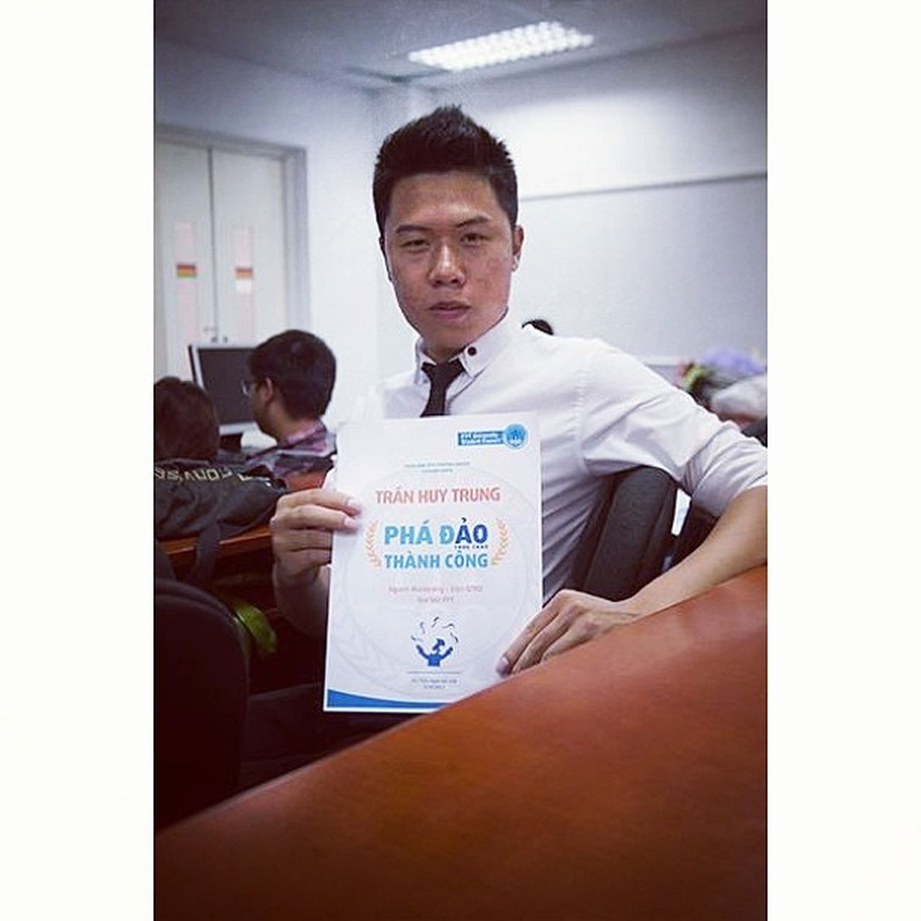 Với chứng chỉ phá đảo thành công Certificate Fpt University