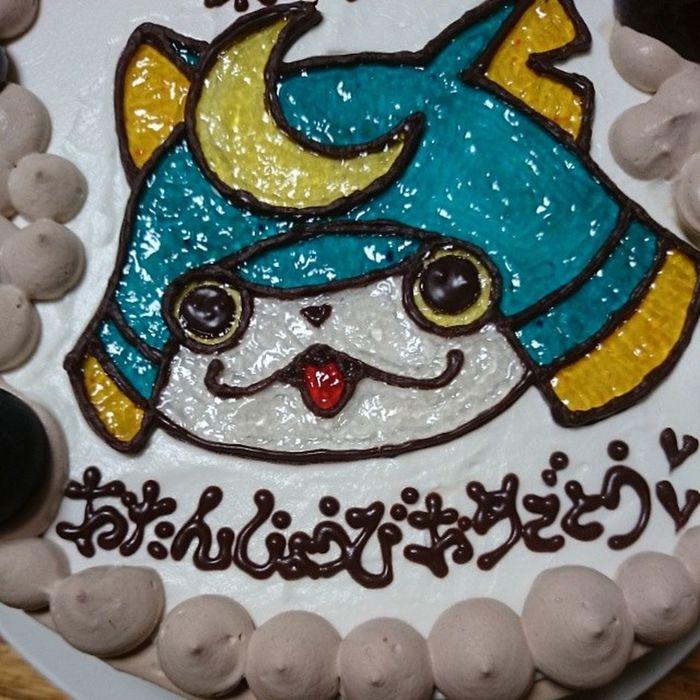 まっぱお誕生日おめでとう!妹が作ってくれたお誕生日ケーキ♡ 妖怪ウォッチ ブシニャン Sundayshooter