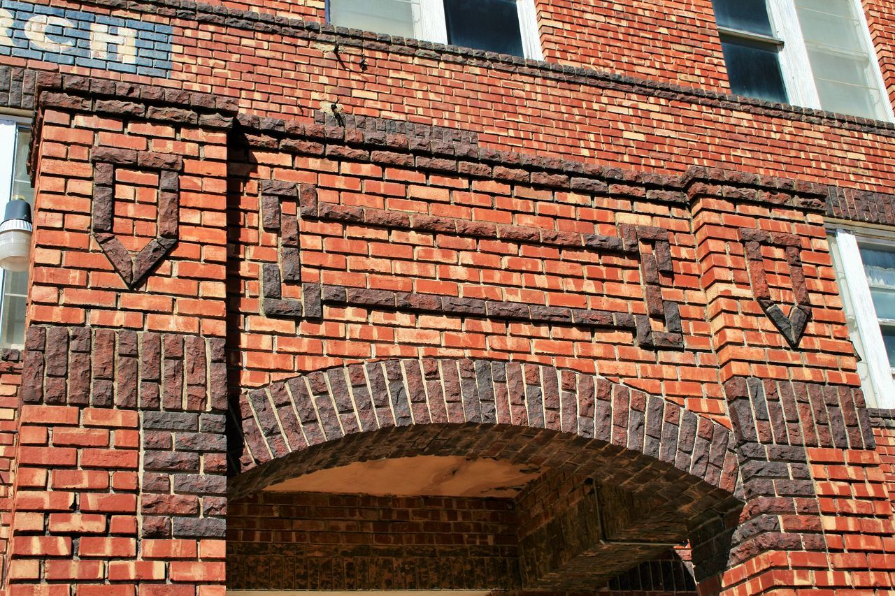Brick Wall Architecture Built Structure Building Exterior Brick Entrance Day Façade Outdoors Damaged History