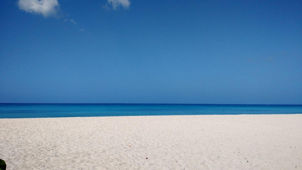 So blue! Soblue Barbados Vacation Beach Beachscape Landscapes Nature Oh_sea Paradise Escapetoparadise Getaway  Islandlife Islandgetaway Caribbean WestIndies Caribbeansea