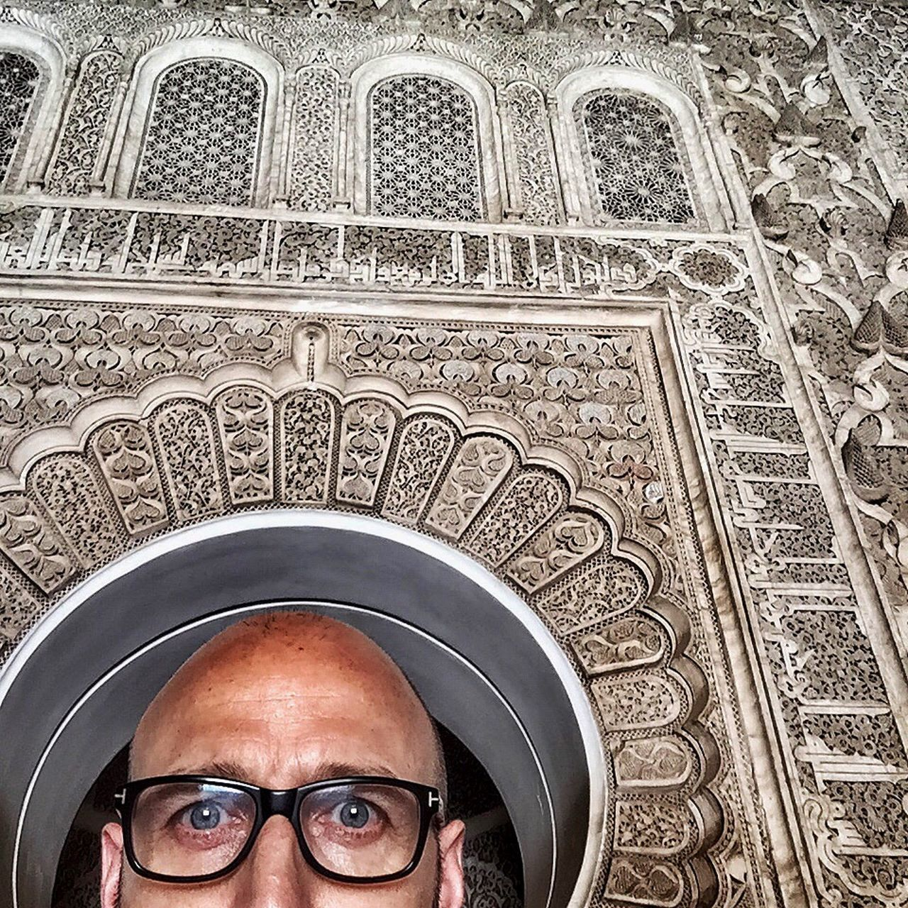 Self Portrait Around The World MARRAKECH ME