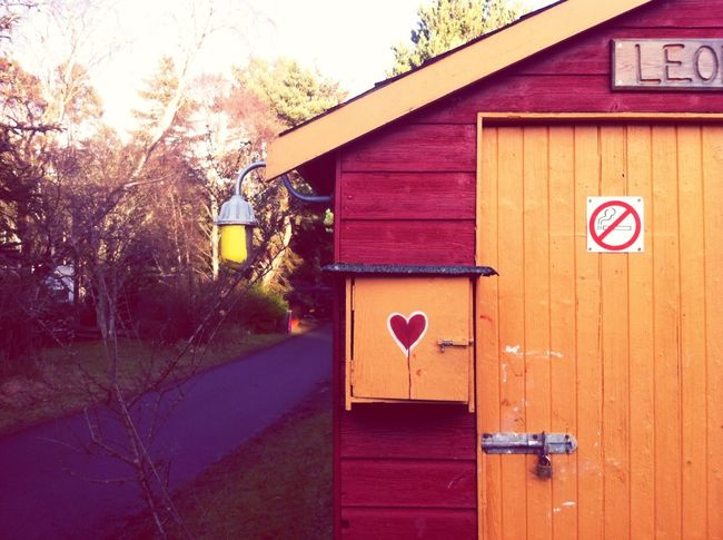 House And Heart in Findhorn Scotland Colour Everywhere