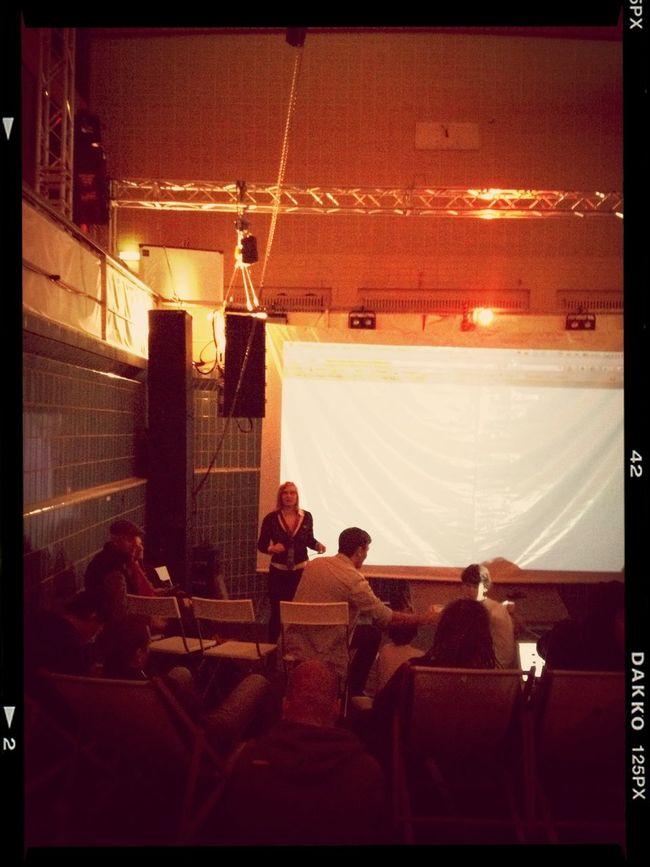 jury @paulamartilla @henrikberggren #phdbln at Stattbad Wedding Jury @paulamartilla @henrikberggren #phdbln