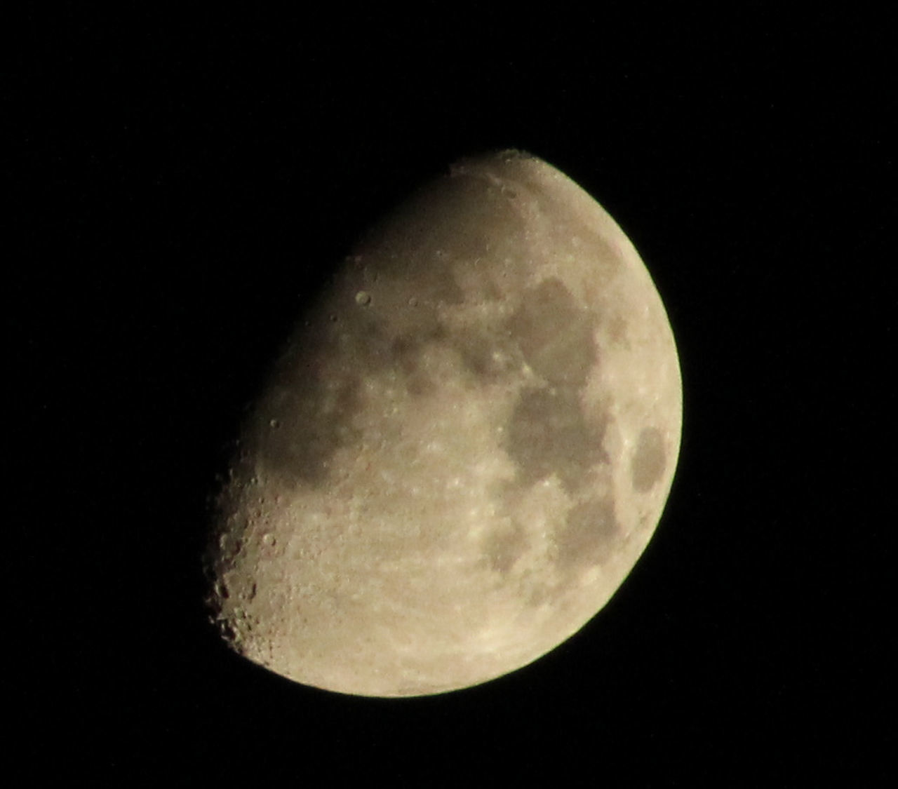 moon, night, moon surface, astronomy, planetary moon, beauty in nature, nature, full moon, majestic, half moon, tranquility, scenics, space exploration, tranquil scene, clear sky, outdoors, no people, low angle view, close-up, space, sky