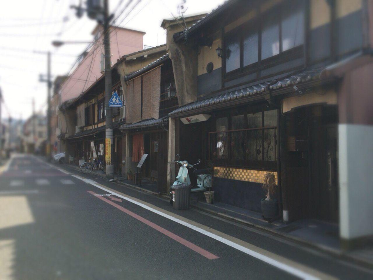 Kyoto Street Kyoto City Bukkouji Road Bukkouji Street Kyoto,japan Kyoto Matiya