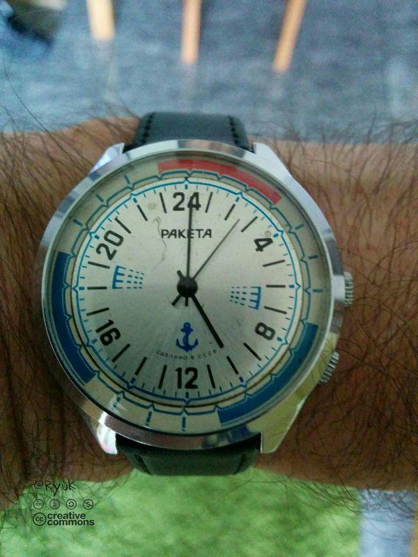 Streamzoofamily TheVille Paketa Raketa Old Watch Watch Wristwatch