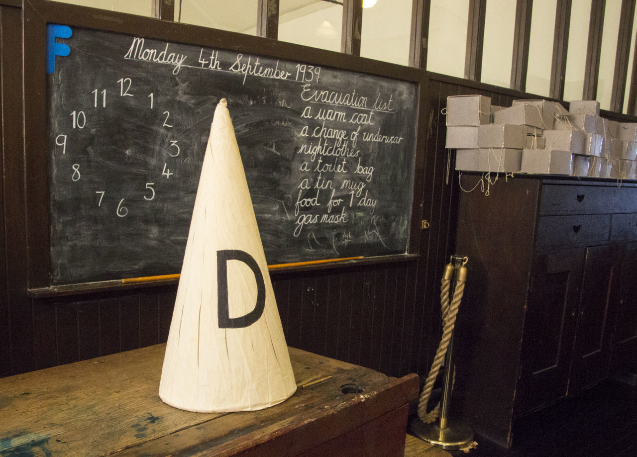 Photographic Memory Abandoned Classroom Dunce Dunce Hat Education Glasgow  Home Interior Indoors  Obsolete Old-fashioned Pupil School Scotland Student Teacher