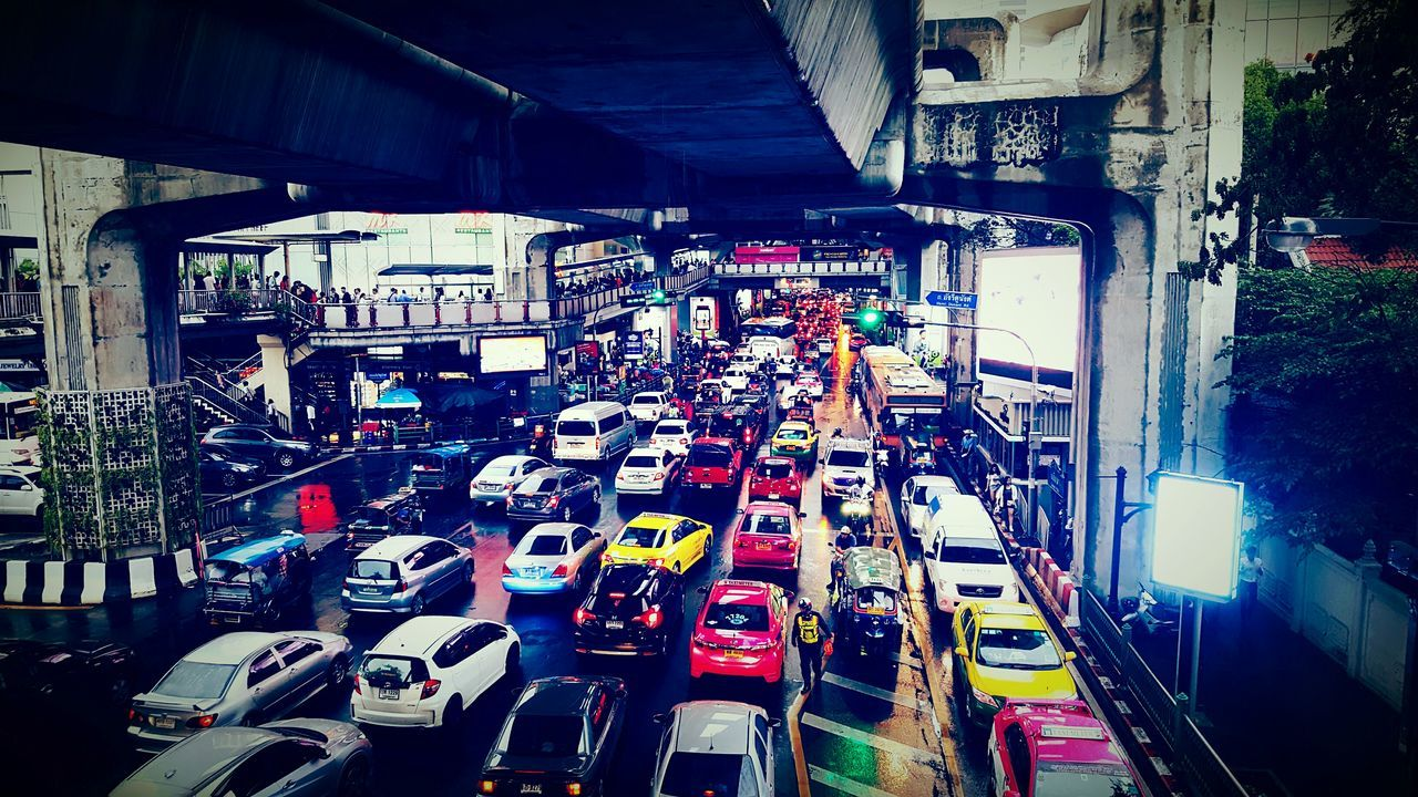 Bangkok Bangkok City Bangkok City Life Cars Vacation Holiday Transportation Road Colorful Colors