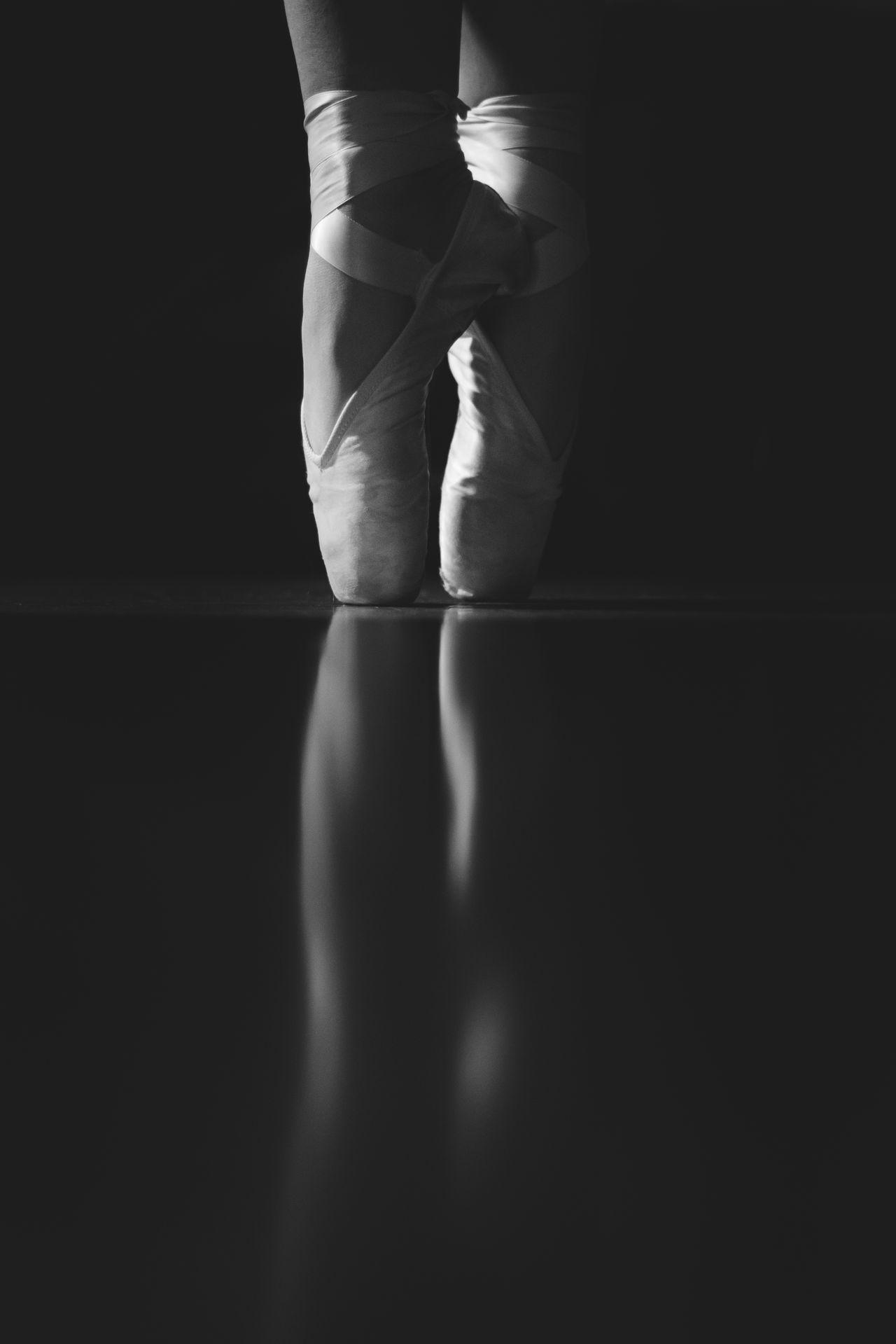 Beautiful stock photos of black background, Arts Culture And Entertainment, Balance, Balancing, Ballerina