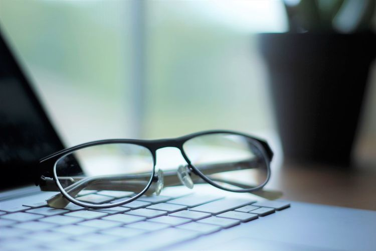 Freelance Life Glasses Laptop Computer Modern Office TeaCup Work Computer Electronics  Glassware Keyboard Laptop Laptop Keyboard Laptop Work Organized Phone Sellphone Simple Sucsess Table Working Space Workspace