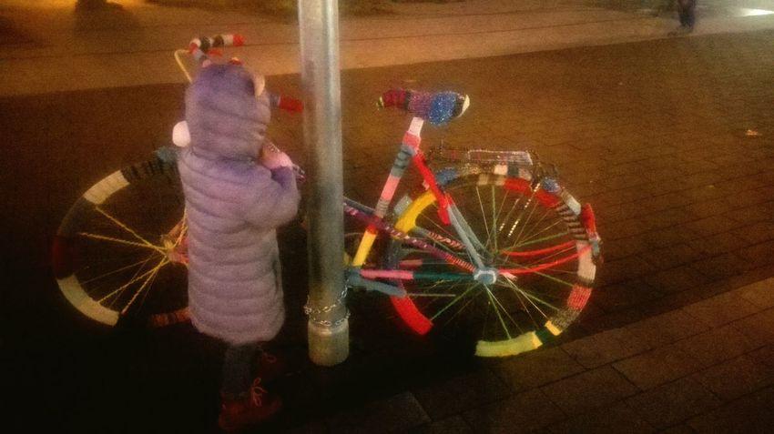 Hi! Enjoying Life Hello Bycicle Fahrrad