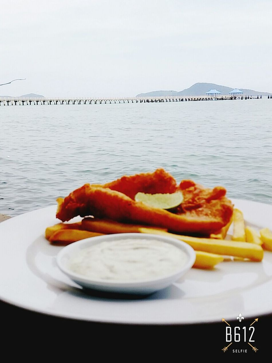 My beautiful sunday lunch at beach front..