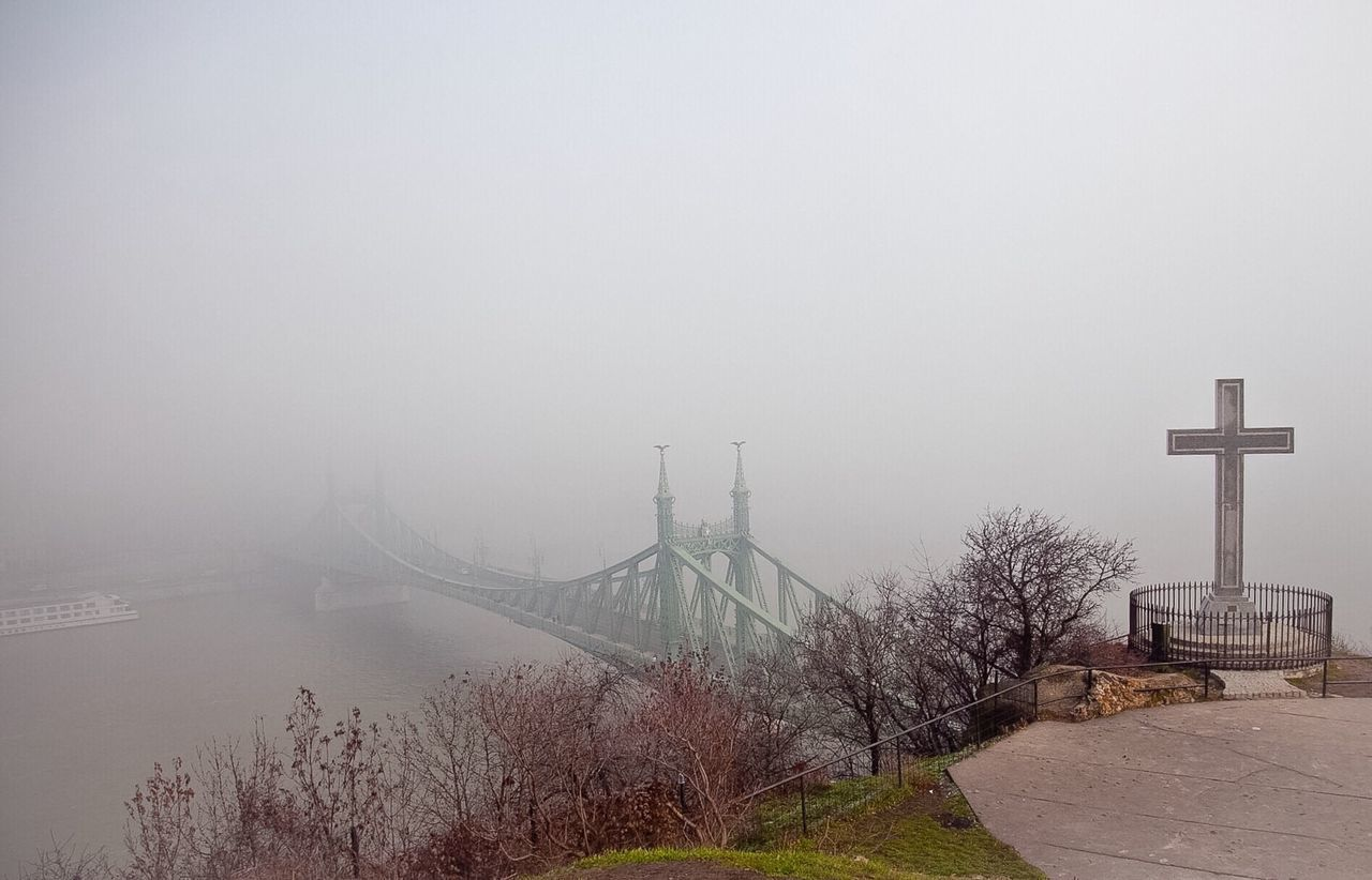 The Magic Mission the bridge to nowhere part 3 Foggy Day Weather Fog Water Built Structure Architecture Connection Foggy Bridge - Man Made Structure Copy Space Suspension Bridge Engineering Day Outdoors Mist Dawn Scenics Bridge Sea Tranquil Scene Tranquility Budapest Embrace Urban Life Miles Away The Architect - 2017 EyeEm Awards The Great Outdoors - 2017 EyeEm Awards Neighborhood Map