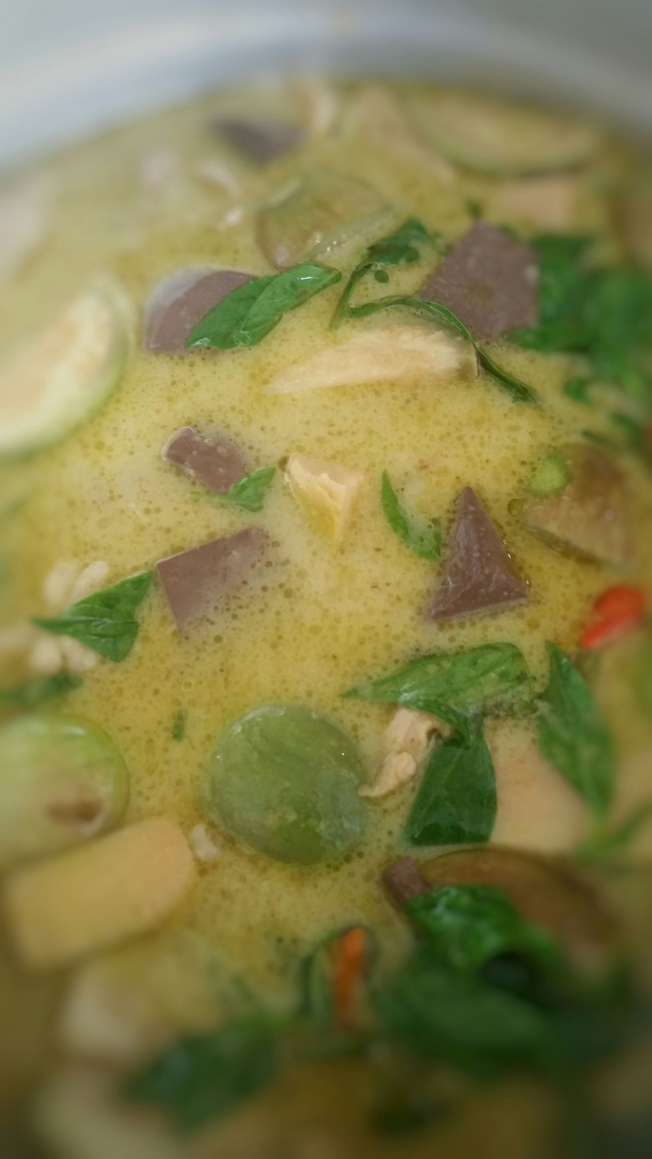 Green Curry Chicken My World Of Food