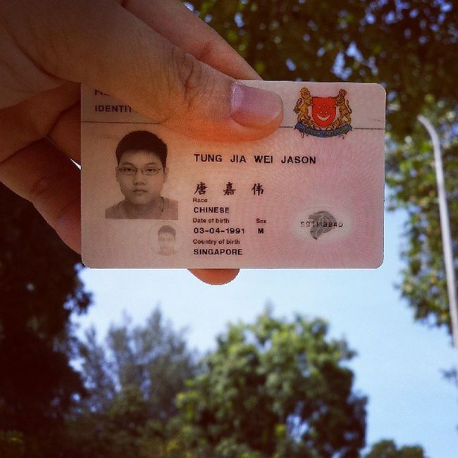 Oh yeah look at this! Finally got back my pink IC woohoo! These 2 years has been fulfilling for me. From meeting the most awesome BMT mates and then getting posted to 4SAB for the remaining journey of my NS life. Attended 2 courses, 3 COCs and 1 overseas exercise kind of wrap up what I did in these 1 year 8 months. Made a lot of awesome friends and I must say my NS journey is fun! A new life begins from today! Ord PinkIC