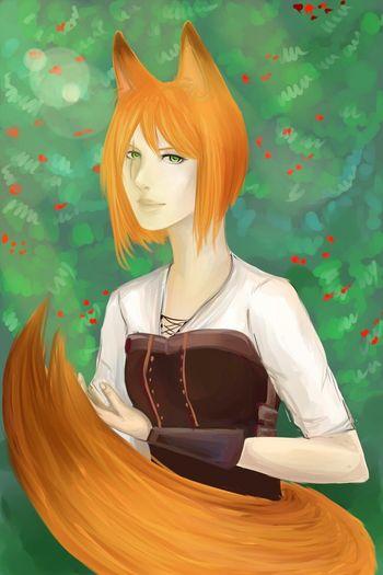 Fox Art Drawing Sallon Lissa